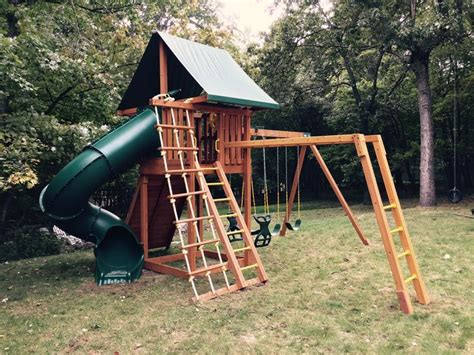swing set with horse glider 17 best images about wooden swing sets on pinterest