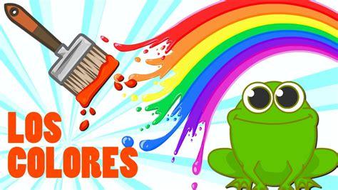 Imagenes Educativas Los Colores   los colores rojo rosa naranja verde azul canciones