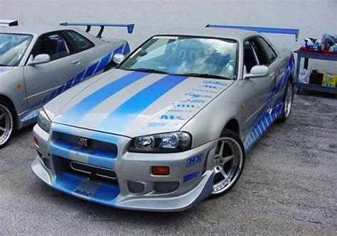 nissan skyline fast and furious nissan skyline gtr r34 fast and furious 22 mobmasker