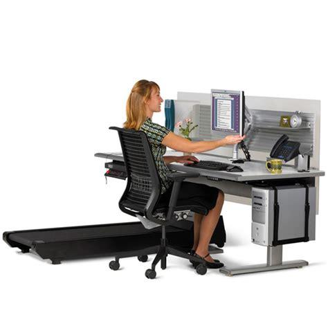 sit to walkstation treadmill desk sit stand or walk the green