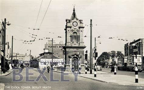 houses to buy in bexleyheath pcd 376 the clock tower bexleyheath c 1950 bexley borough photosbexley borough photos