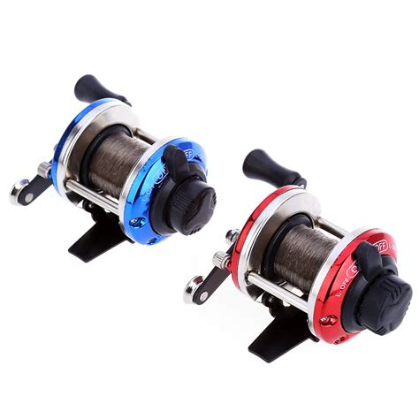 Reel Spool Amscud 50m mini right drum fishing wire winder with 0 2mm line 50m spinning fishing reel fish wheel