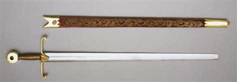 cortana sword the british coronation sword curtana 17th century based