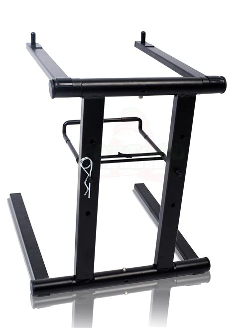 desk ls target stores folding dj laptop stand computer table top pc rack cl