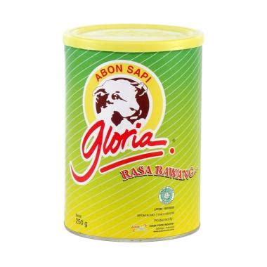 abon sapi gloria rasa bawang jual gloria abon sapi bawang makanan kering 250 g
