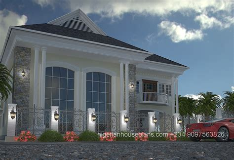 5 bedroom duplex house plans 5 bedroom duplex ref 5011 nigerianhouseplans