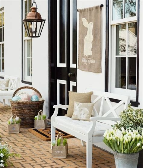 porch decorating 30 cool easter porch d 233 cor ideas digsdigs