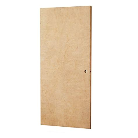 home depot solid core interior door l i f industries 32 in x 79 in smooth flush birch solid