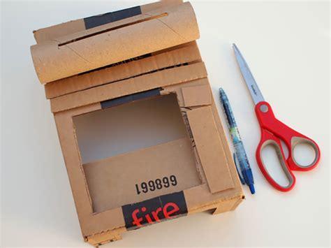 How To Make A Paper Register - diy cardboard register handmade