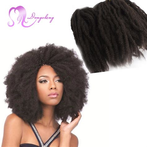 can i dye marley hair hoting afro kinky twist braid hair 18inch folded black