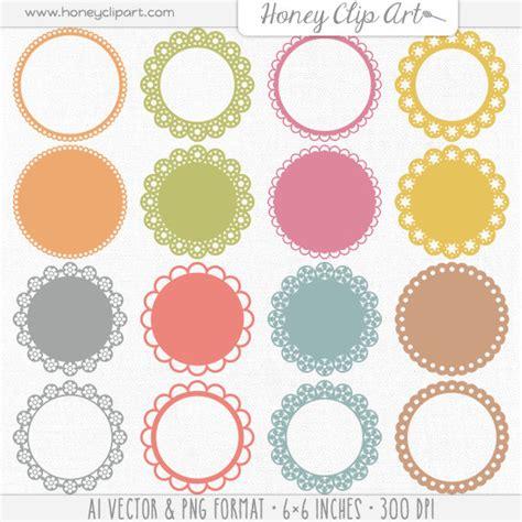 Home Decor Software Free Download vintage lace digital frame fancy lace label clip art