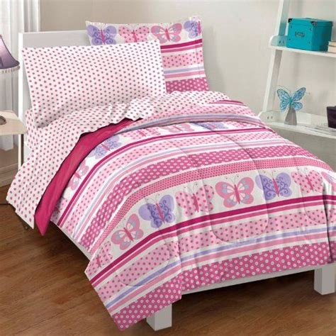twin size comforter set 5 piece girls bed in a bag kids