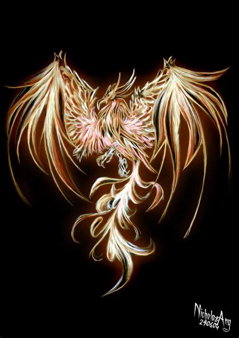 phoenix tattoo with background phoenix fire phoenix by teran80 on deviantart lovely