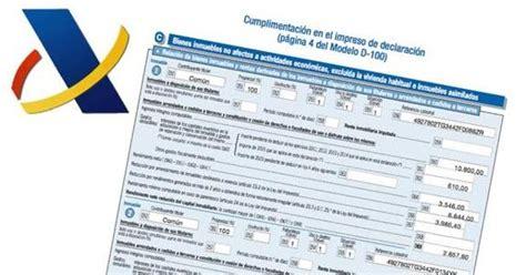 obligacion declarantes renta 2016 mundo laboral por manuel calle renta 2016 191 qui 233 n tiene