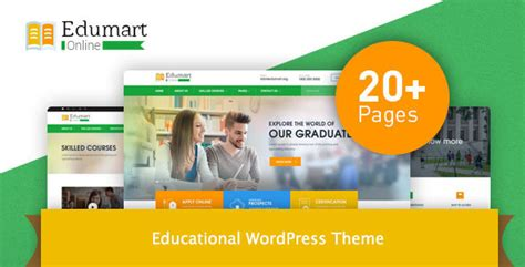 wordpress education themes download edumart education wordpress theme download nulled rip