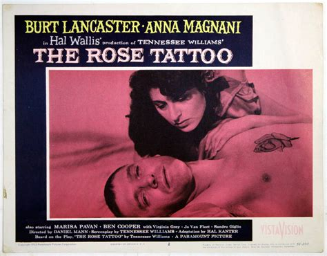 the rose tattoo film quote of the day the 1955 the last drive in