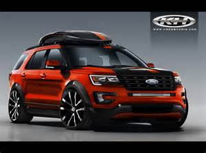 Ford Sport Ford Bringing Four Customized Explorer Sport Suvs To Sema