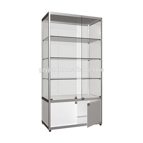 used shop display cabinets glass door display cabinet www imgkid com the image