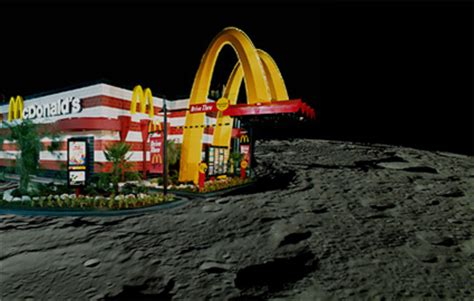 what time does mcdonalds dining room open mcdonald s opens on the moon weekly world news