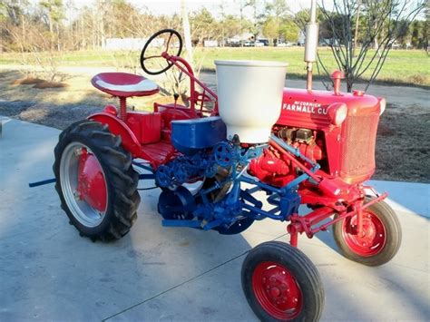 farmall 100 cultivator paint yesterday s tractors