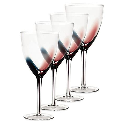 bed bath and beyond glasses mikasa 174 kya red wine glasses set of 4 bed bath beyond