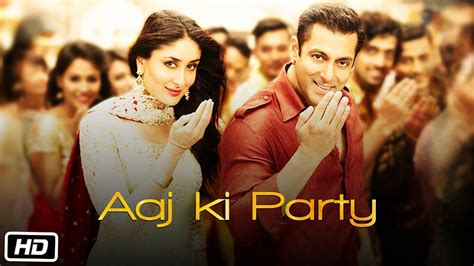 full hd video bajrangi bhaijaan aaj ki party lyrics and full hd video song bajrangi