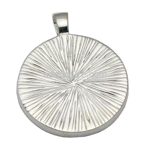 wholesale pendant settings blanks cabochon pendant tray
