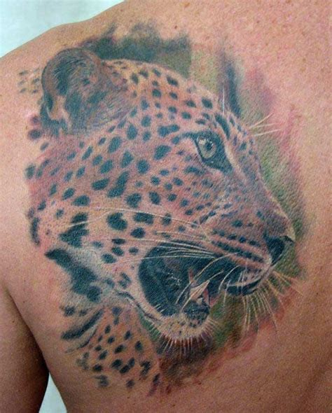 leopard tattoo images designs 10 all time best leopard tattoos