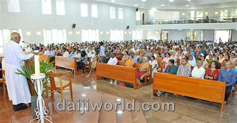 fatima retreat house mangalore divine mercy church at fatima retreat house inaugurated daijiworld com