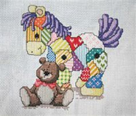 Patchwork Pony - gallery ru 58 the world of cross stitching 106