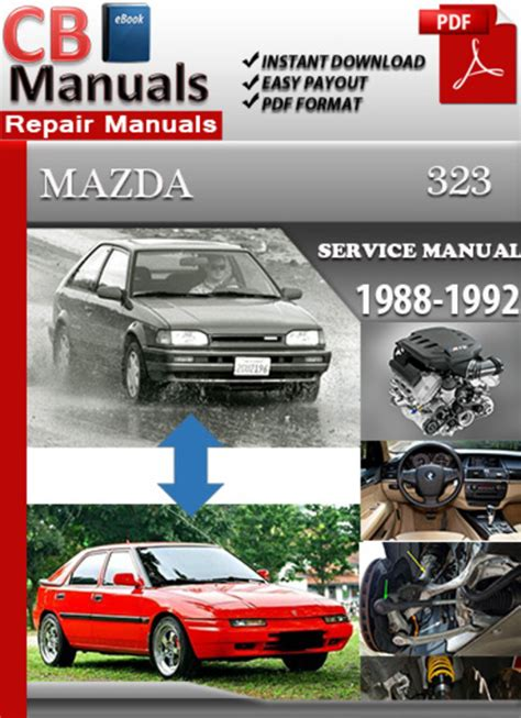 car repair manuals online pdf 1992 mazda 323 engine control service manual car manuals free online 1992 mazda familia security system used haynes mazda