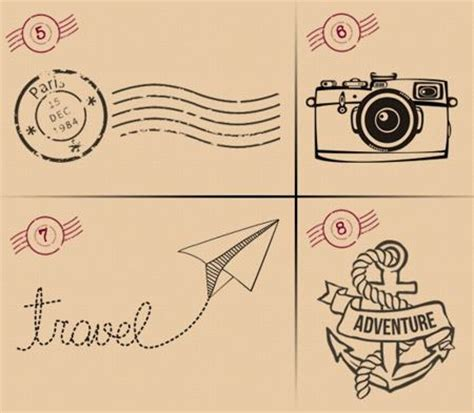 travelling tattoo designs 15 travel inspired designs that showcase your