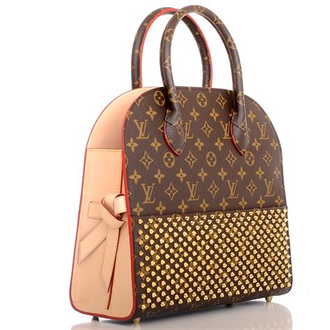 louis vuitton monogram iconoclasts christian louboutin