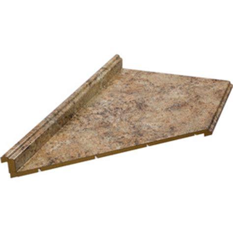 6 Foot Countertop by Shop Belanger Laminate Countertops 6 Ft Madura Gold