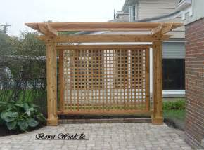 deck privacy screens patio screen designs yard