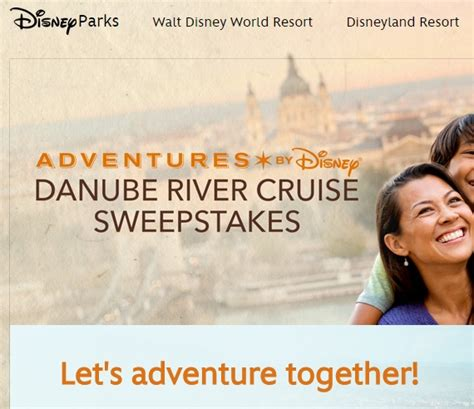 Disney Channel Cruise Sweepstakes 2015 - disney danube river cruise sweepstakes sweeps maniac