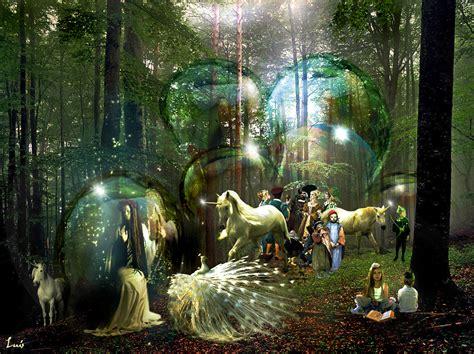 imagenes bonitas bosque de fantasias en un bosque m 225 gico los cuatro elementos