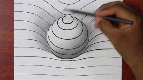 Logiciel De Dessin 3d 3040 by Comment Dessiner Une Sph 232 Re En 3d Illusion D Optique