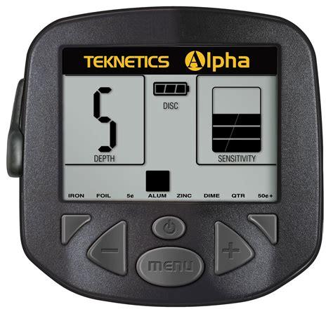 teknetics alpha 2000 metal detector - Teknetics Alpha