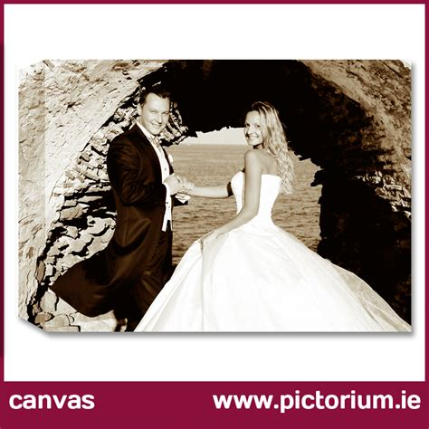 Wedding Anniversary Gifts Dublin by Wedding Anniversary Gift Canvas Frame The Pictorium