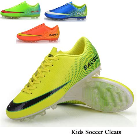 outdoor football shoes boy s soccer cleats fg outdoor soccer shoes