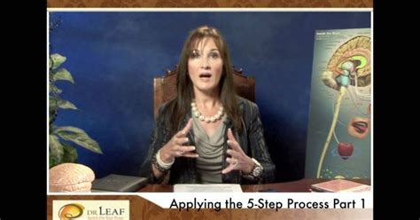 Caroline Leaf S Detox by Dr Leaf Applying The Swoyb 5 Step Part 1 Work On One
