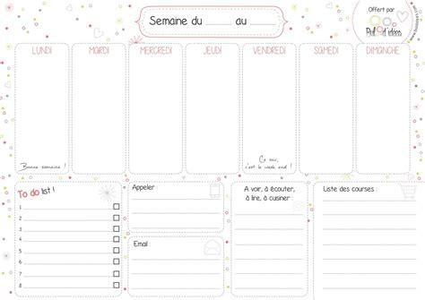 Calendrier Hebdomadaire Calendrier Hebdomadaire Calendar Template 2016