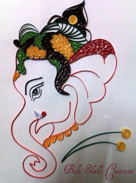 quilling ganesha tutorial bela s quilled creations quilled ganesha quilling and