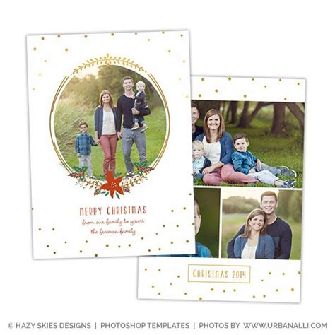photoshop postcard template card photoshop template deck the halls
