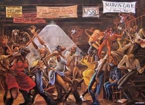 Leroy Barnes Jr Ernie Barnes Innovative Black Artists Exhibit