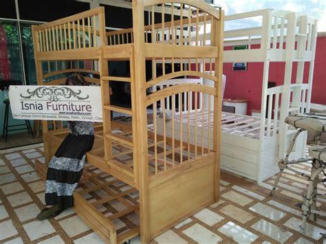 Dipan Kayu Surabaya dipan tingkat kayu sungkai cat desain dipan tingkat anak