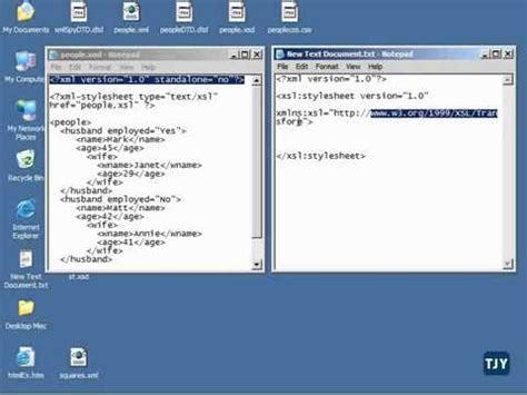 xslt tutorial youtube xml tutorial 56 creating an xslt stylesheet youtube
