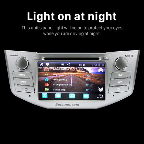 lexus rx navigation system all in one 2003 2010 lexus rx 300 330 350 400h car stereo