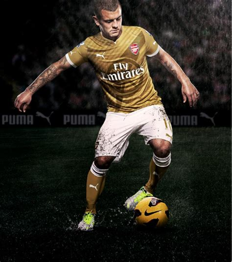 arsenal puma deal image puma produce gorgeous gold arsenal away kit for